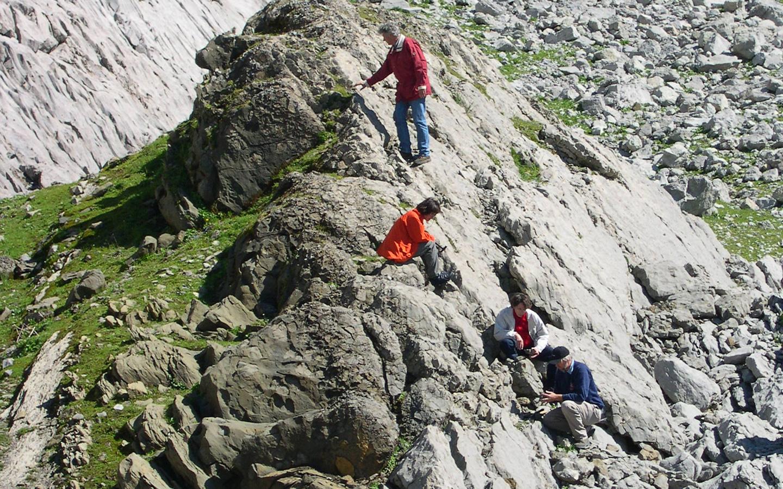 eologische Wanderung im Alpste
